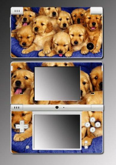 Golden Retriever Puppy Dog game Skin 9 for Nintendo DSi
