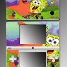 Spongebob Patrick Squarepants game Skin #3 Nintendo DSi