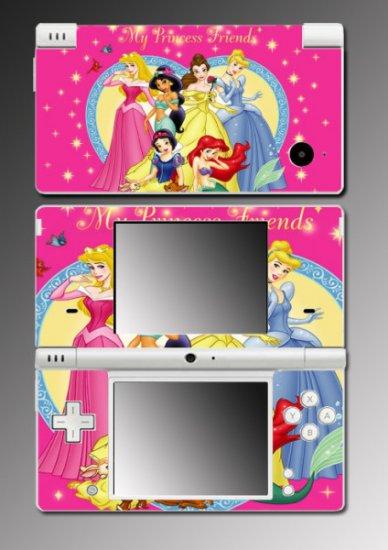 Princess Snow White Ariel game Skin #1 for Nintendo DSi