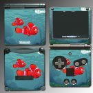Finding Nemo Marlin movie game SKIN #2 Nintendo GBA SP
