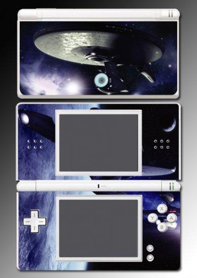 Star Trek USS Enterprise Game SKIN #2 Nintendo DS Lite