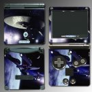 Star Trek USS Enterprise Game SKIN #2 Nintendo GBA SP