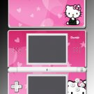 PINK cute KITTY heart SKIN #4 for Nintendo DS Lite