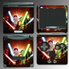 Star Wars Jedi Lightsaber game SKIN #5 Nintendo GBA SP