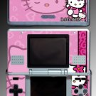 Pink Kitty cute cat game cartoon SKIN 2 for Nintendo DS