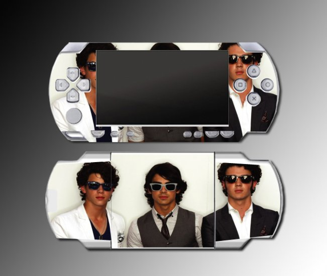 Jonas Bros Joe Nick Kevin Brothers SKIN 7 Sony PSP NEW