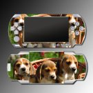 Dogs Beagles Puppies pets game case SKIN 1 Sony PSP