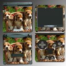 Dog Beagles Puppies Pet game SKIN 1 for Nintendo GBA SP