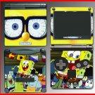 Spongebob Squarepants Patrick SKIN #4 Nintendo GBA SP