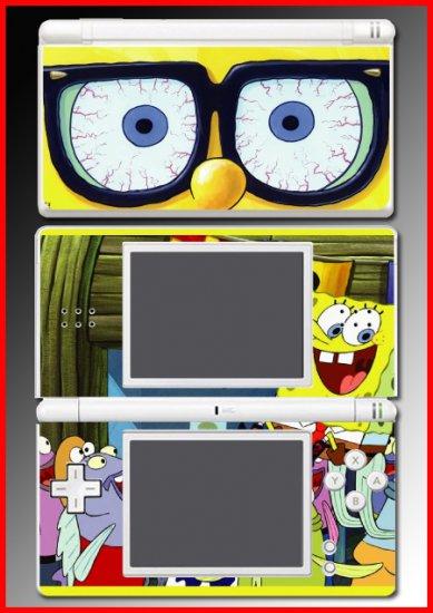 Spongebob Squarepants game SKIN #4 for Nintendo DS Lite
