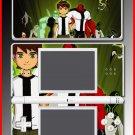 Ben 10 Alien Force show game SKIN for Nintendo DS Lite