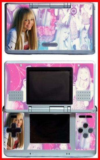 Hannah Montana Miley Cyrus Skin for Nintendo DS DHM8