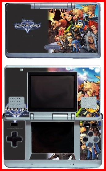 Kingdom Hearts Sora Donald Game SKIN #4 for Nintendo DS