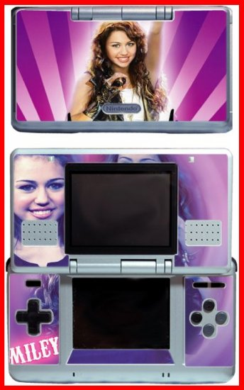 Hannah Montana Miley Cyrus SKIN for Nintendo DS DHM6