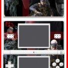 Metal Gear Solid 4 MGS4 Snake SKIN #1 Nintendo DS Lite