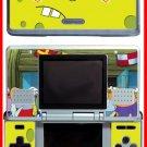 SPONGEBOB SQUAREPANTS GAME SKIN #1 for Nintendo DS