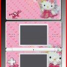 Cute Kitty Pink Princess game SKIN #1 Nintendo DS Lite