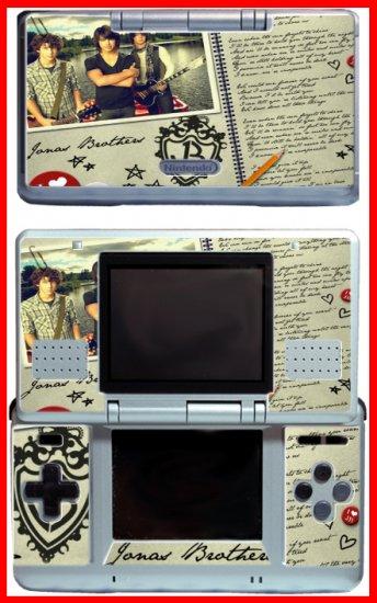 Jonas Brothers Nick Joe Kevin SKIN #3 for Nintendo DS