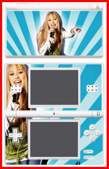 Hannah Montana Miley Cyrus MOVIE SKIN 4 for DS Lite