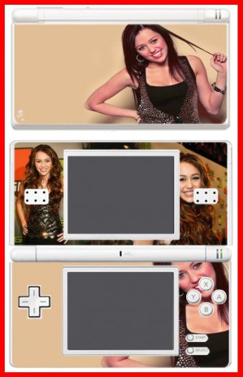 Hannah Montana Miley Cyrus SKIN 3 for Nintendo DS Lite