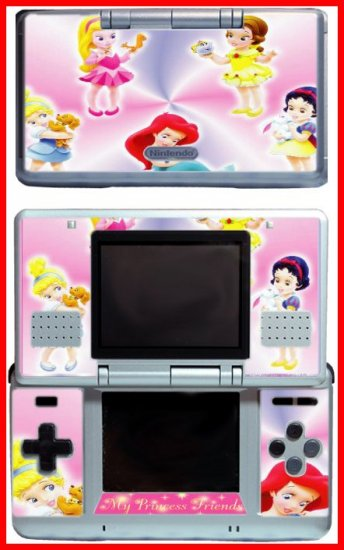 PRINCESS FRIENDS Baby GAME SKIN #2 for Nintendo DS