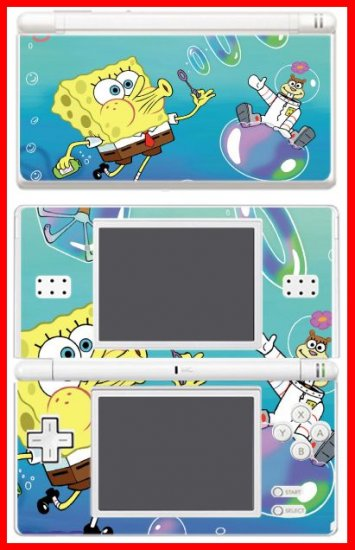 NEW Spongebob Game Movie Skin #2 for Nintendo DS Lite