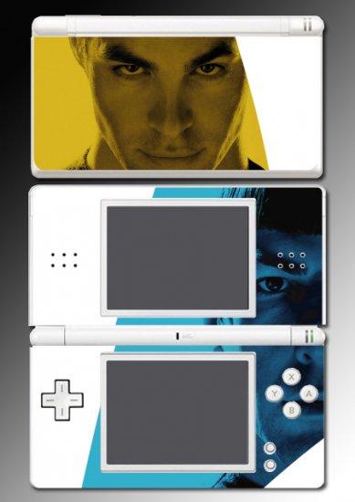 Star Trek Captain Kirk Spock Game Skin Nintendo DS Lite
