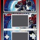 Transformers Optmius Prime case game SKIN #6 DS Lite