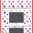 Mickey Mouse monogram pattern SKIN #1 Nintendo DS Lite
