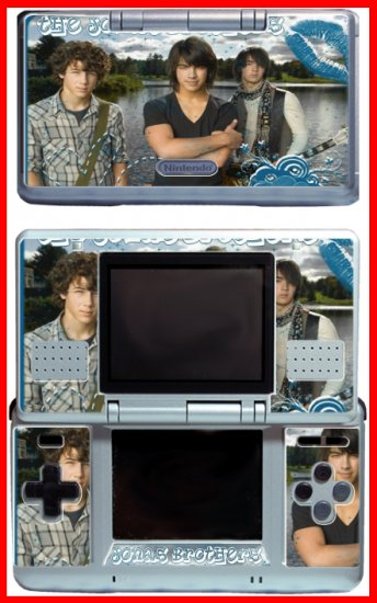 Jonas Brothers Nick Concert Songs SKIN #4 Nintendo DS