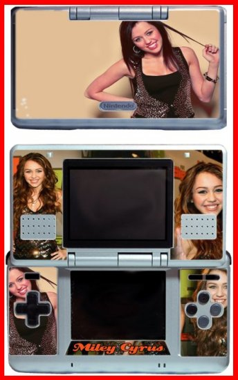 Hannah Montana Miley Cyrus Game SKIN for Nintendo DS