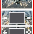 F-22 Raptor Jet Airplane Fighter SKIN Nintendo DS Lite