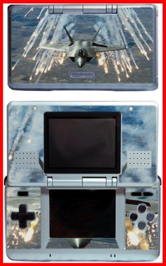 Airplane Jet Fighter F22 Raptor SKIN #1 for Nintendo DS