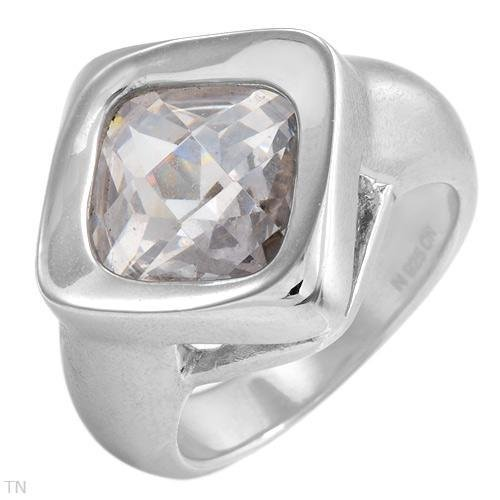 STERLING SILVER CRYSTAL GORGEOUS RING