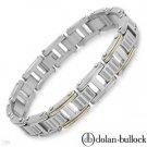 Dolan Bullock 18K/StSL Gentlemen's Gorgeous Bracelet