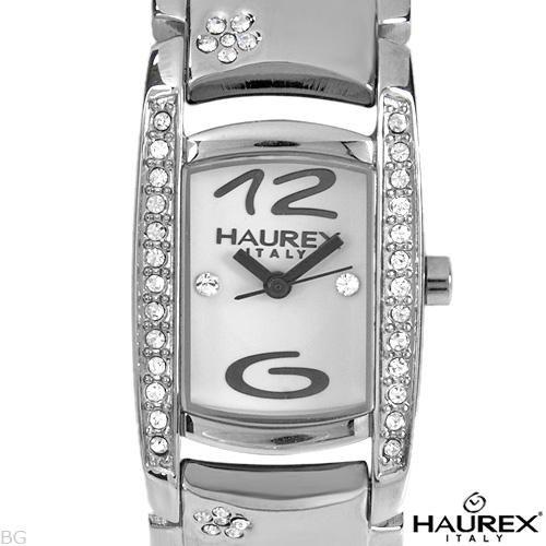 HAUREX ITALY...Crystal & Stainless Steel Ladie's Watch