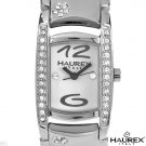 HAUREX ITALY...Crystal & Stainless Steel Ladie's Watch