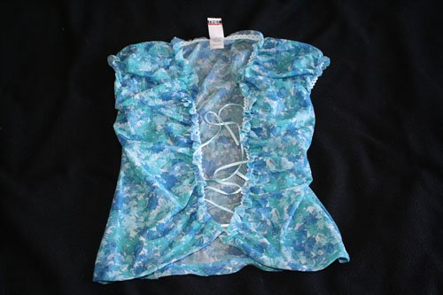 BLOW OUT SALE: LIMITE SHEER SUMMER TANK TOP