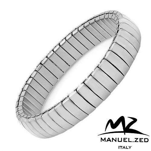 MANUEL ZED Made in Italy:Stainless Steel Men's Bracelet