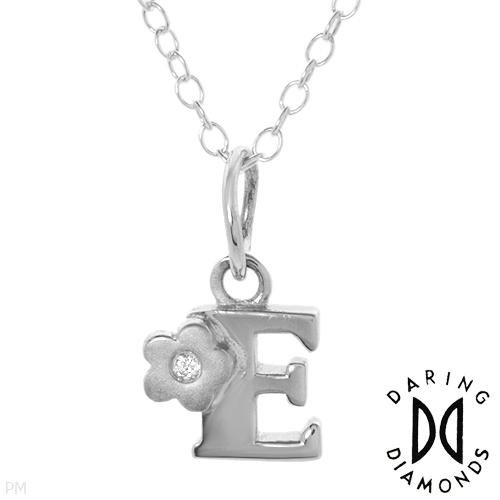 Daring Diamonds Sterling Silver Necklace w/Diamonds