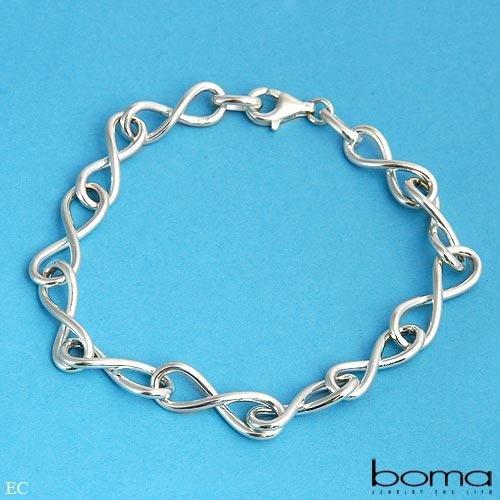 BOMA Elegant Sterling Silver Bracelet Retails $200.00