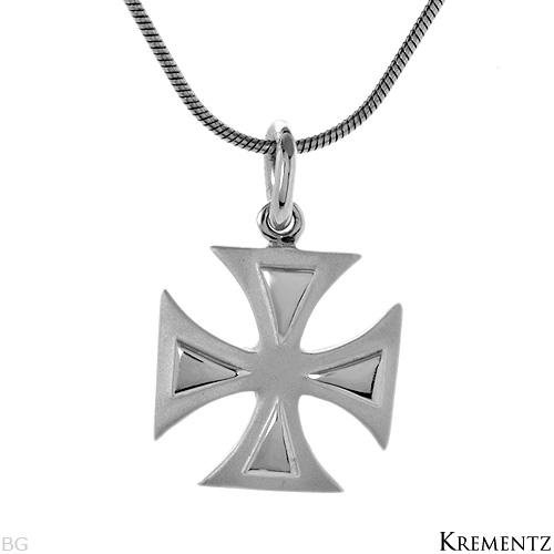 KREMENTZ Sterling Silver Cross Necklace
