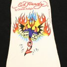 ED HARDY FLAMING DICE Tank Top One Size  HOT HOT HOT