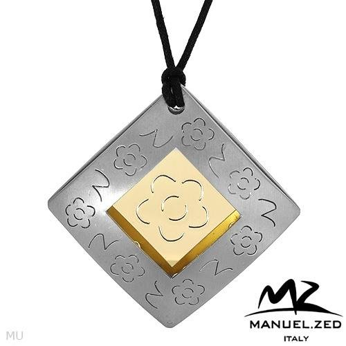 MANUEL ZED Made in Italy: Beautiful Flower Pendant