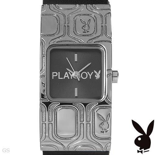 Playboy Ladies Metal Elegant Watch Metal & Leather