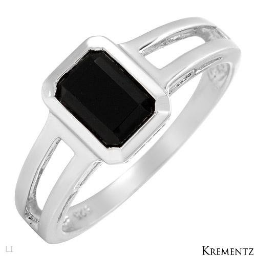 Krementz Sterling Silver w/ Onyx Beautiful Ring