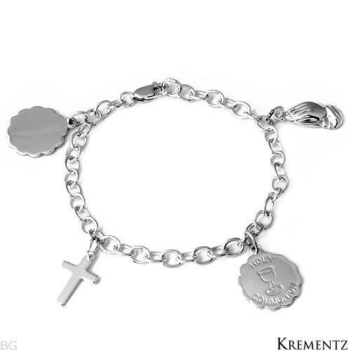 Krementz Sterling Silver Communion Bracelet: Gorgeous