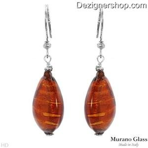 MURANO GLASS Made In Italy Gorgeous Earrings