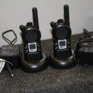 2 MOTOROLA CLS 1413 BUSINESS TWO WAY RADIO'S: W/CHARGER
