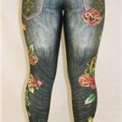 EXQUISITE BEJEWELED LEGGINGS BY SUSAN FIXEL: MUST HAVE